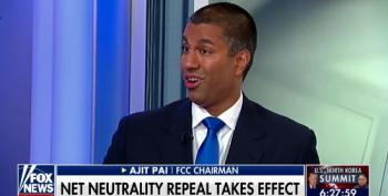 'The Internet Is Going To Be Better Than Ever': Ajit Pai Lies About Net Neutrality Repeal