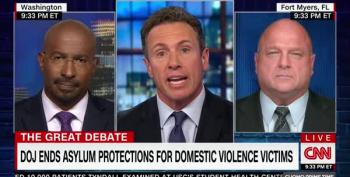 Chris Cuomo And Van Jones Decimate David Urban On Asylum For Domestic Violence Victims