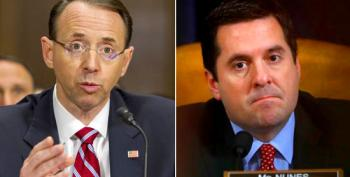 Rod Rosenstein Has Had It With Devin Nunes Leaking To Trump
