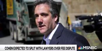Trump Turns His Back On Michael Cohen