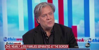 Steve Bannon On Separating Immigrant Children: Zero Tolerance Doesn't Have To Be Justified