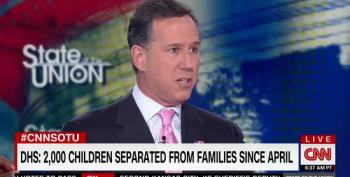 Rick Santorum: People Who Disagree With Ripping Away Immigrant Children Should Give Their Addresses Out