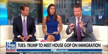 Fox Host:  Immigrant Kids Ripped From Parents Have It Great In Trump Concentration Camps