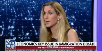 Ann Coulter's Duckspeak: Migrant Children Are 'Actors'