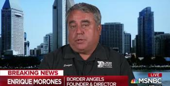 Border Angel Founder Enrique Morones: 'Trump Is Evil'