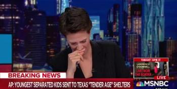 WATCH: The Breaking News That Made Rachel Maddow Cry