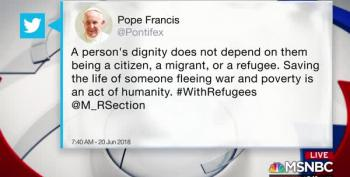 United Methodist Church Denounces Sessions, Pope Tweets Support For Refugees
