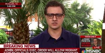 Chris Hayes: Trump Connected To 'Very Hard Right Figures In Europe' On Immigration Policy