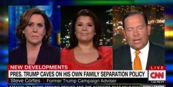 Ana Navarro Mocks Steve Cortes: Trump Betrayed You!  Ha!
