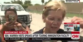 Sen. Warren: 'What I've Witnessed Here Is Truly Disturbing'