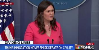 MSNBC Host Runs Montage Of Sarah Huckabee Sanders' Uncivil, Disrespectful Conduct