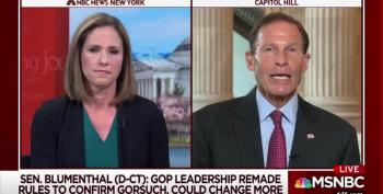 Sen. Blumenthal Will Ask SCOTUS Nominee To Recuse Himself