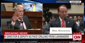 FAIL:  Benghazi Witch Hunter Trey Gowdy Thinks Mueller Is Taking Too Long