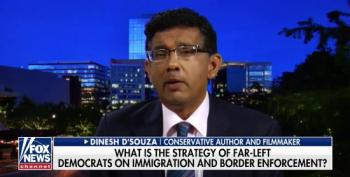 Right Wing Fraud D'Souza Has The Stupidest Quote Of The Day