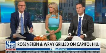 Fox And Friends Couch Potatoes' Grade-School Version Of Rosenstein Hearings