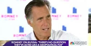 Romney: 'No Question' Russia Acting As Geopolitical Foe