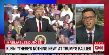 Ezra Klein Wonders: Why Cover Trump Rallies?