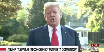 Trump Isn't Sure 'Competitor' Putin Is An Enemy
