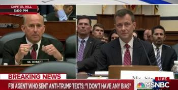 Irony Dies As Trump-Loving Louis Gohmert Tried To Shame Peter Stzrok For Affair