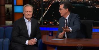 Lawrence O'Donnell On The Late Show With Stephen Colbert