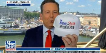 Ed Henry Brags About Getting The Last 'Trump Putin Helsinki 2018' Hat