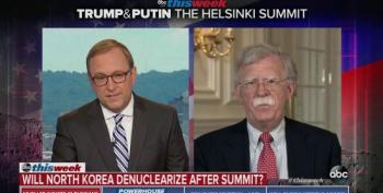John Bolton Makes Lame Attempt To Spin Trump's Lie About N. Korean Denuclearization