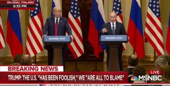 Trump Brags About Beating Hillary, Putin Claims Russia Didn't Interfere In 2016 Election