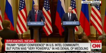 At Treason Summit, Putin Plays Coy About Pee Tape
