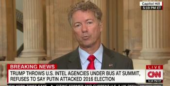 Rand Paul Can't Decide If He Believes Facts Or Donald Trump