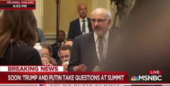 Reporter Forcibly Ejected From Trump-Putin Press Conference