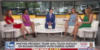 Even Fox News' Outnumbered Can't Defend Trump's Treason Presser