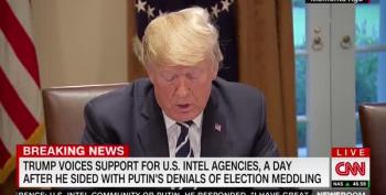Trump Blames Obama For McConnell Stonewalling 2016 Hacking Disclosures