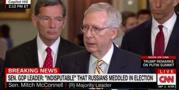Mitch McConnell Admits He Knew About 2016 Hacking And Did Nothing