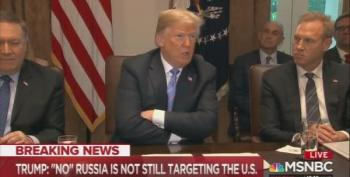 Trump Tells Press: Russia No Longer Targets U.S. With Cyber Warfare