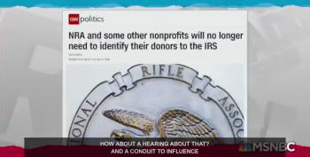 Maddow:  Mnuchin's Treasury Allows Even Darker Money From NRA