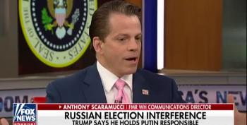 Scaramucci Spins Helsinki: Trump Was 'Gracious' With Putin