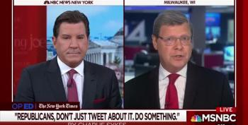 MSNBC Hosts Eric Bolling Vs. Charlie Sykes Cage Match