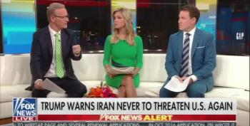 Fox And Friends: 'We Could Wipe Out Iran With A Push Of A Button'