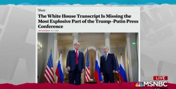 Maddow: Official White House Helsinki Records Altered To Hide Putin's Preference For Trump