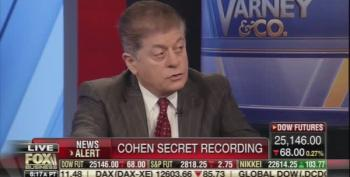 Judge Napolitano: Cohen Tape Shows Trump Involved In Committing A Fraud