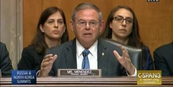 Menendez Shreds Mike Pompeo's Snarky Answers