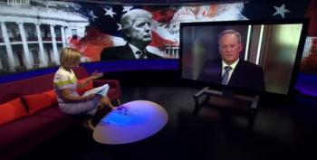 BBC Host Eviscerates Sean Spicer Over Role In Helping To 'Corrupt Discourse For The Entire World'