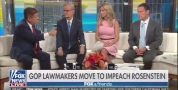Judge Napolitano: Rosenstein Threats Of Impeachment 'Embarrassing For Everybody Involved'