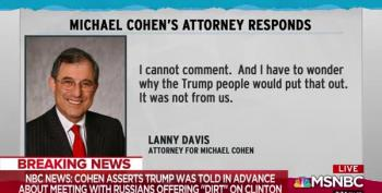 Lanny Davis Says Story About Trump Knowledge Of 2016 Meeting Did Not Come From Him