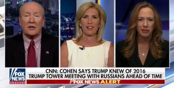 After Cohen 'Trump Knew' Bombshell, Ingraham Blames... Hillary