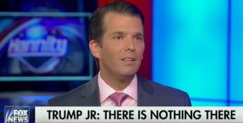 That Time Don Jr. Lied To Fox Viewers On Hannity
