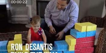 DeSantis Pledges Undying Loyalty To Trump In Bizarre New Ad