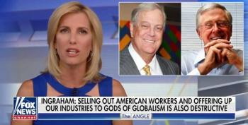 Laura Ingraham Attacks The Koch Brothers For Daring To Defy Trump On Tariffs