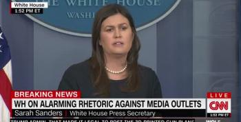 OOPS: Sarah Sanders Lied About That Whole Osama Bin Laden Satellite Phone Report