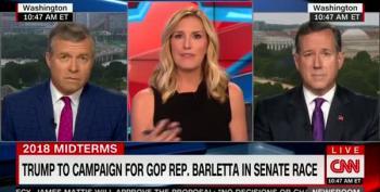Rick Santorum's Earpiece Problem